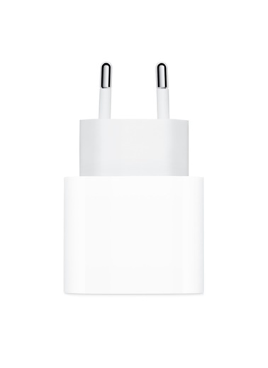 Apple İPhone 11 / 12 20W USB-C Güç Adaptörü Beyaz